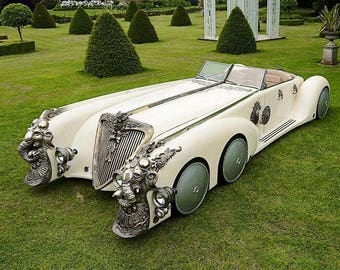 Captain Nemo's Nautilus Car from the film 'The League of Extraordinary Gentleman.