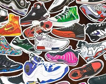 Sneaker Sticker-Bombing Sticker Pack