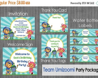 ON SALE Team Umizoomi Party Package