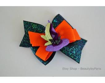 Witch Hat  Pinwheel Dog Bow