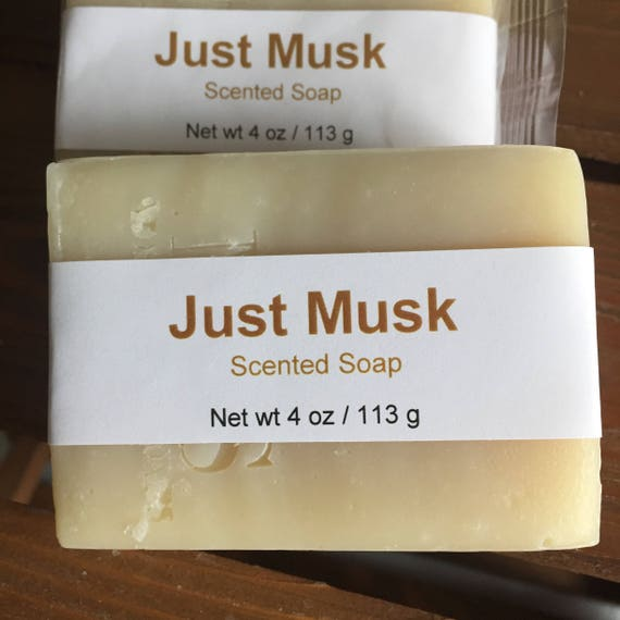 Just Musk Scented Cold Process Soap with Shea Butter