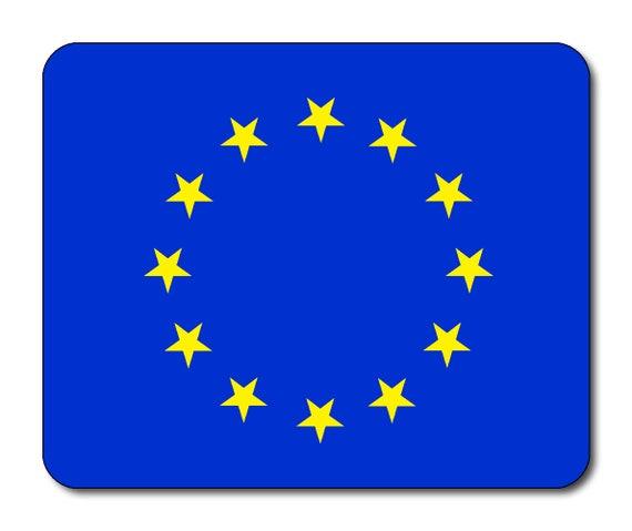 European Flag Mouse Mat Mouse Pad, EU