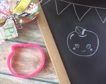 Kawaii Apple Cookie Cutter