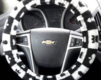 Steering wheel cover--chess*****