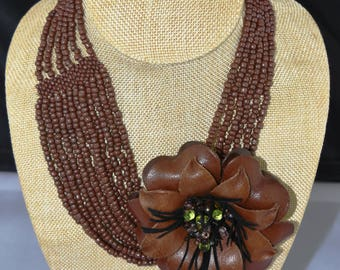 Leather and Beads