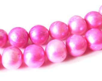 5 x 10-12 mm pink freshwater pearls