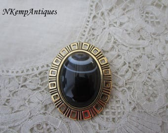 Vintage scarf ring