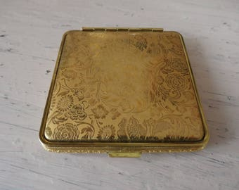 Vintage Art Deco Powder Compact