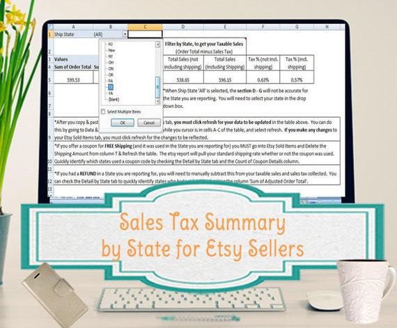 tax spreadsheet template
