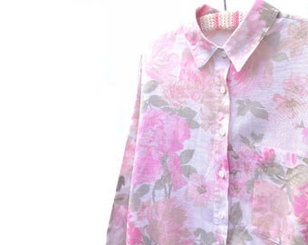 80s MOM Shirt - Pink - Medium Large