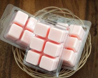 Zinfandel wax melt, wax tarts, white zinfandel candle, wax melt stocking stuffer, soy wax, paraffin wax, beverage scented candle