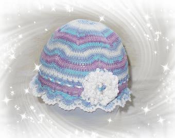 Hat, summer hat, girl 2-6 years