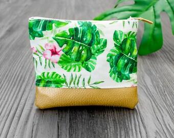 Mini Pocket - tropical - gold
