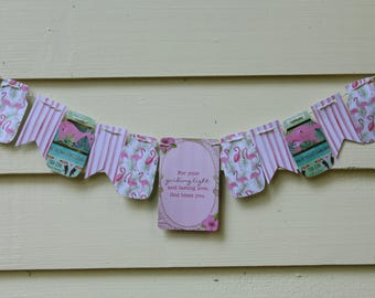For Your Guiding Light and Lasting Love Mini-Bunting
