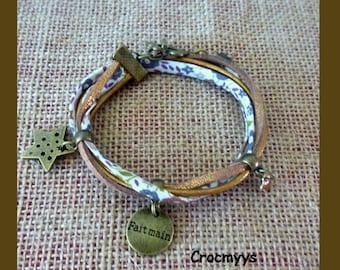 Star and faiford liberty bracelet