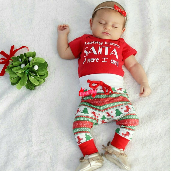 Baby Clothes Baby Christmas Outfit Baby Boy Christmas