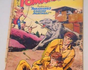 ON SALE! Vintage Tomahawk Comic Book No. 50 Aug. 1957 Featuring Tomahawk's Canine Partner, DC Comics