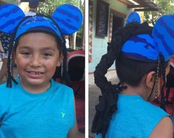 Avatar Inspired Mouse Ears Hat: Baby, Child, and Adult sizes