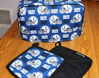 Indianapolis Colts Toaster Cover and Pot Holders