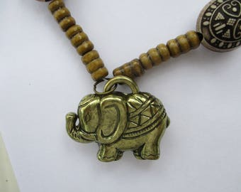 Elephant necklace, Elephant Jewelry, Animal Necklace,Elephant Pendent,Gift idea, Animal Jewelry, Gift for her, Good luck charm,
