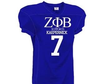 Zeta Phi Beta Kaepernick Football Jersey