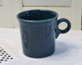 Fiesta Ware Evergreen café thé tasse bague poignée Teal remplacement PanchosPorch