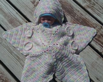 Crochet Star baby bundting