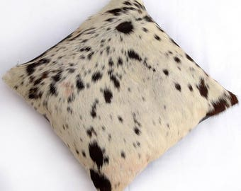 Natural Cowhide Luxurious Hair On Cushion/ Pillow Cover (15''x 15'') A50
