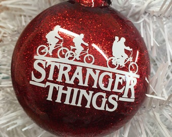 Stranger Things Ornament, Stranger Things, Netflix, netflix original, gifts under 10, netflix lovers, can be personalized  free  of charge