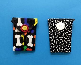 CREDIT CARD holder, lipstick bag, gift card holder, dog lover gift, stocking stuffer, business card case, lipstick holder, credit card case