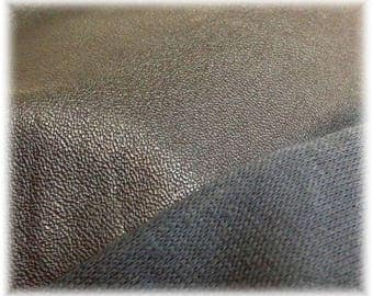 FAUX LEATHER thin for paws shoes col. Black teddy bear making supplies