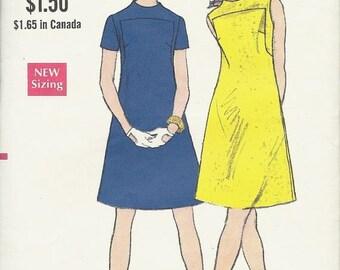 25% OFF Vogue pattern 7373    Misses One-Piece Dress    Size 14