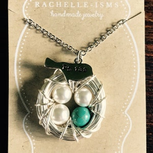 Gift For Grieving Mother Miscarriage Necklace For Mothers