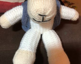 Lamb hand knitted