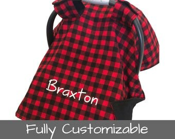 Personalized Baby Car Seat Canopy Baby Car Seat Cover Infant Car Seat Canopy Baby Carseat Cover Baby Carseat Canopy Cover Bucket Seat Covers