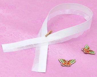 Set of 2 Hanbok Git Collar Dong-jeong Korean traditional dress collar