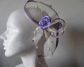Headband ivory edging Parma