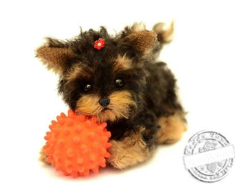 Puppy York Lina, (is possible repeat to order)Teddy York ,Toy ,Terrier ,dog ,plush dog,plush toy,teddy