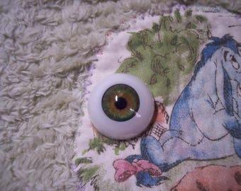 EyEcO EyEs PoLyGLaSs Eyes GrEeN GaZe A251 22MM~ REBORN DOLL SUPPLIES