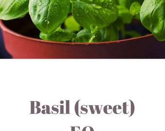 Sweet basil essential oil QRDS