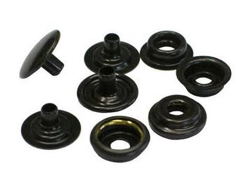 "1000 Qty  C.s.osborne K4713-16-m Copper Black Brass Snaps, Size 24 Snaps 5/8"""