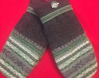 C15   Felted wool mittens size large