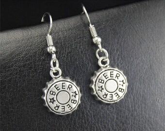 Beer Cap earrings