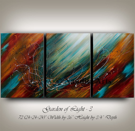 Original acrylic abstract painting abstract paintings modern for Original modern art for sale