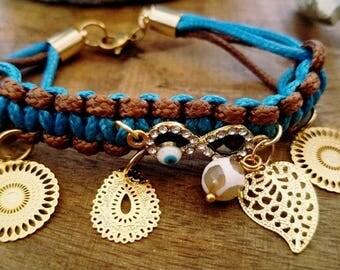 Charmed Macrame Bracelet