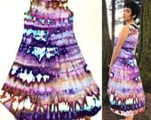 Small Tie Dye Highs and Lows Dress