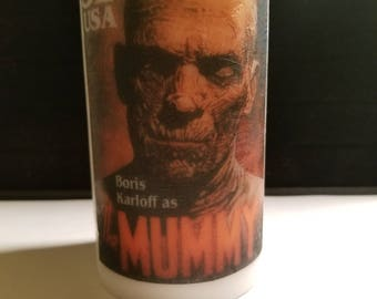 5 and a half inch Unique The Mummy Decorative  Image Candle
