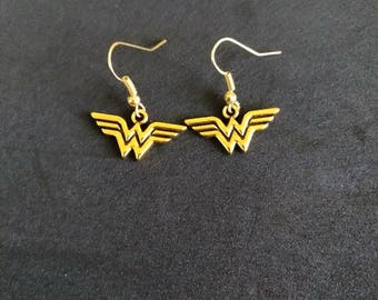 Wonder Woman Inspired Earrings