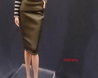 Skirt for Barbie,Muse barbie,LIV dolls, FR, Silkstone - No.180115-12