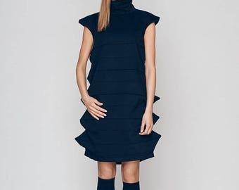 Dresses On Sale Little Black Dress, Summer Dress, Minimalist Dress, Midi Dress, Geometric Dress, Short Dress, High Neck Dress, Bridesmaid Dr